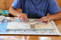 夏休みの工作 - 大阪府池田市 幼児造形教室「はるいろクレヨンのブログ」