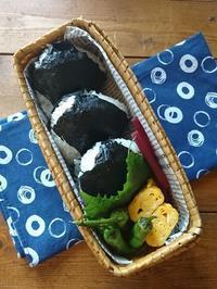 8.2シンプルな贅沢♪おにぎり弁当&前田屋さんの美味しい海苔 - YUKA'sレシピ♪