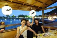 京都・嵐山で鵜飼🎵 - 八巻多鶴子が贈る 華麗なるジュエリー・デイズ