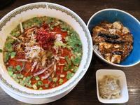 雲林坊の担々麺と麻婆豆腐丼 - 腹ペコ旅行記