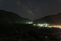 星降る夜 ~天の川 - katsuのヘタッピ風景