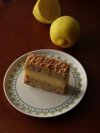 穏やかで柔らかなレモンクリームとビスキュイ - Baking Daily@TM5