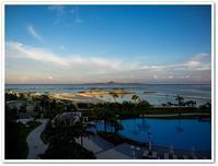 2018夏の沖縄 2日目 その1  ホテルオリオンモトブ リゾート&スパ 朝の景色とジュラ紀温泉 美ら海の湯 - Stay Green 2