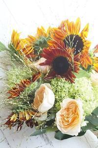 ぼちぼちと… - お花に囲まれて