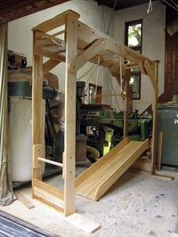 レンタルうんていNタイプW1900×H1800×D1140滑り台新平均台ぶら下がり練習棒No.1588 - MIKI Kota STYLE by Art Furniture Gallery