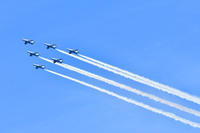 ブルーインパルス展示飛行(予行) - 花鳥風月…空Photo blog