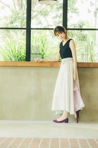 涼しげで女っぽいデートスタイル♪コーデ例♪#松村沙友理#デート - *Ray(レイ) 系ほなみのブログ*