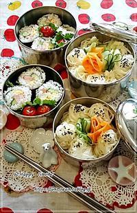 おかずがない日のW炭水化物弁当と今夜のおうち呑み♪ - ☆Happy time☆