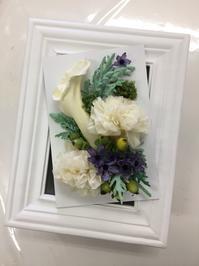 ゲリラ豪雨にはご注意を。プリザーブドフラワー加工と花束のご依頼。 - 山梨県プリザーブドフラワー・レインボーローズ専門店『プリザーブドフラワーなないろ』