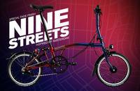 BROMPTON 9 Street限定モデル予約受付中 - 秀岳荘自転車売り場だより