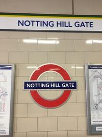 London 2018_6 〜Notting Hill お散歩をしてREDとIt's Only Life〜 - 佳田亜樹の悪戯書き
