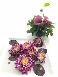 ブーケを解いた後は。。。 - **おやつのお花*   きれい 可愛い いとおしいをデザインしましょう♪