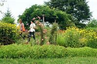 花ロード恵庭の花を楽しむ人々 - 照片画廊