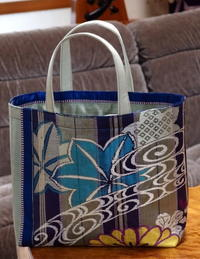 母の帯でバッグを(^o^) - 自然の中でⅡ