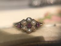 ヴィクトリアン期のお花のリング - AntiqueJewellery GoodWill