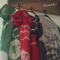 絞り染め - komikiの日記
