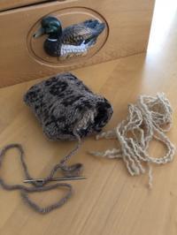 暑い日にはお家で。vol.2 ニットのピンクッション - 手染めと糸のワークショップ