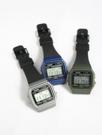 CASIO リストウォッチ UK流通限定モデル - 【Tapir Diary】神戸のセレクトショップ『タピア』のブログです