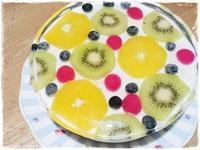 暑い夏場のお誕生日ケーキに❤ 華やかで涼しげ レアチーズケーキ - 和小物クリエイター 『リメイク』で大好きをもっと身近に♪『てしごと日月堂』店主のブログ
