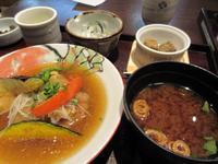 【いろはな】金目鯛の揚げおろし煮定食 - お散歩アルバム・・暑い日にはやっぱりかき氷