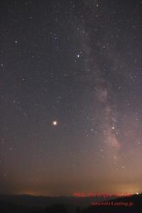 Mars, the bright red star / 火星大接近 - 君がいた風景