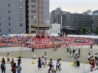 築地本願寺の盆踊り大会とマリメッコ - 続☆今日が一番・・・♪