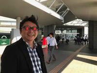 Eijiくんに会いに行ってパチリ♪会いたい時、会える時に会った者勝ちなのだ。 - Isao Watanabeの'Spice of Life'.