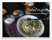 久々の更新☆たぬちクンの一人麺のキロク - 麺や「あきたぬち」~お昼は麺で