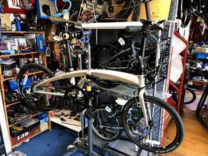 tern verge-N8チェーンガード交換 - カルマックス タジマ -自転車屋さんの スタッフ ブログ
