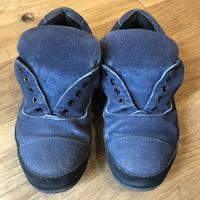 スエード靴のクリーニング【ビフォー・アフター】途中経過編 - Shoe Care & Shoe Order 「FANS.浅草本店」M.Mowbray Shop