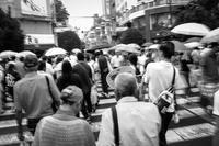1/10secにブレる雨の街角 - Film&Gasoline