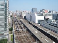 錦糸町駅俯瞰 - お寺や神社、古い町並み、鉄道、他色々の写真ブログ