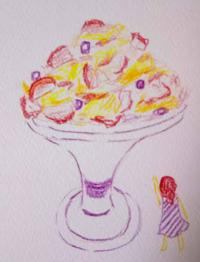 夏休みの醍醐味 - たなかきょおこ-旅する絵描きの絵日記/Kyoko Tanaka Illustrated Diary