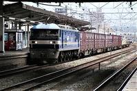 藤田八束の鉄道写真@貨物列車と借景の素晴らしさ、貨物列車に魅せられて写真を撮る - 藤田八束の日記