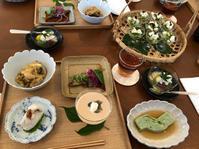 7月の和食のお稽古とみなと神戸花火大会 - 料理画報