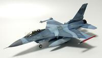 1/48  F-16N TOPGUN - 熱帯夜から見始めた模型を作る夢