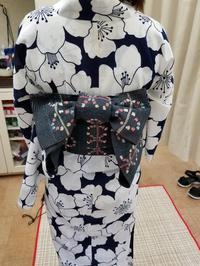 浴衣の着付け - ヘアーサロンササキ(釜石市大町)のブログ