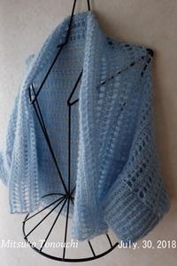 カーディガン      A cardigan - 糸始末な日々         Thread&Yarn Handing Days