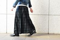 mizuiro ind::Gather Tuck Long Skirt - JUILLET