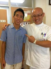 『第2回治療家甲子園』の決勝大会で動画に出てくれた当時小学生の男の子が、7年ぶりに一鍼に来てくれました - 東洋医学総合はりきゅう治療院 一鍼 ~健やかに晴れやかに~