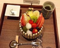 フルーツあんみつ - お昼ごはんはパフェ (お昼ごはんはモーニング?)