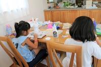 貝殻フォトフレーム - 大阪府池田市 幼児造形教室「はるいろクレヨンのブログ」
