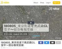 ガマン大会・奥武蔵GL 2018年8月5日 - 暗 箱 夜 話 【弐 號】
