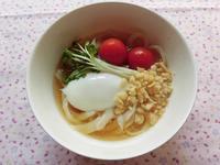 柚木風味のぶっかけうどん - 相生産業国賓味彩タレ&ソース時短料理レシピ集