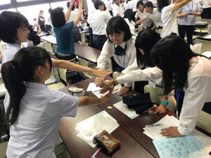 県家庭クラブ研修会 - 賀名生分校ブログ「青春日和」