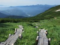 磐梯朝日出羽三山の主峰 月山を登るMount Gassan in Bandai-Asahi National Park - やっぱり自然が好き