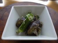 茄子とオクラの出汁煮 - LEAFLabo