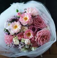 バレエの発表会の花束 と 8月8日生花レッスン - 一会 ウエディングの花