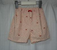 372.371と同じ生地のパンツ - フリルの子供服