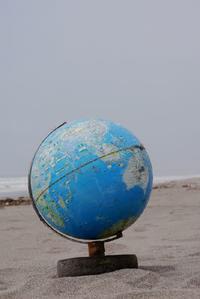 これは初物・地球儀だよ! - Beachcomber's Logbook